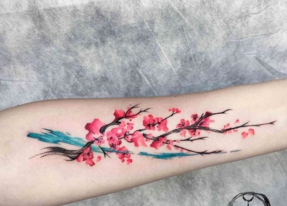 water-color-tattoo-design