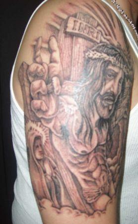 beckoning Jesus