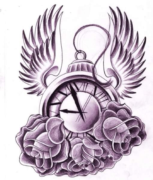 fairy tale clock