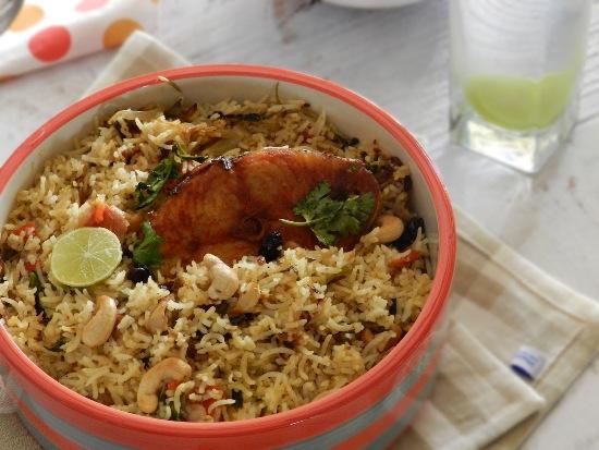 recipes with fish - fish biryani