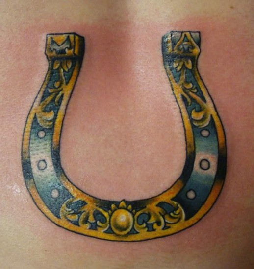 horseoshe tattoo 1