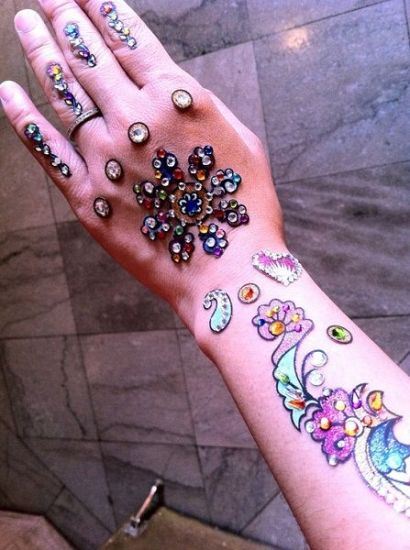 Mehandi stickers Design 2