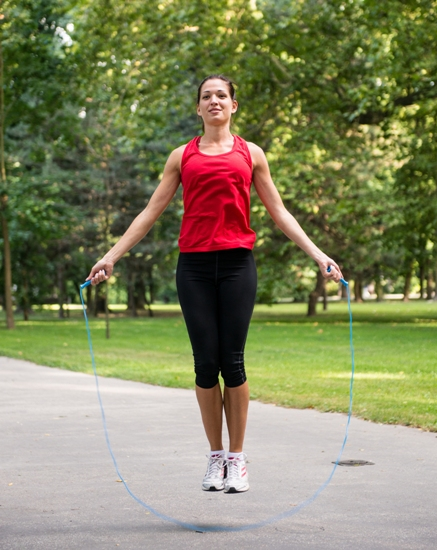Skipping - fat burning workouts for women