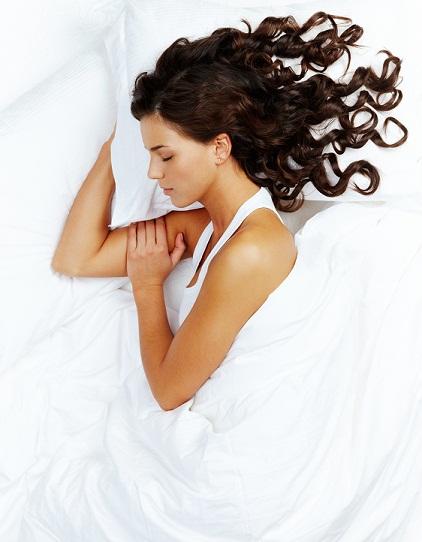 Sleeping for bride