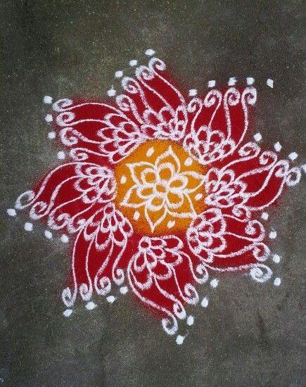 Best Kolam Rangoli Designs 13
