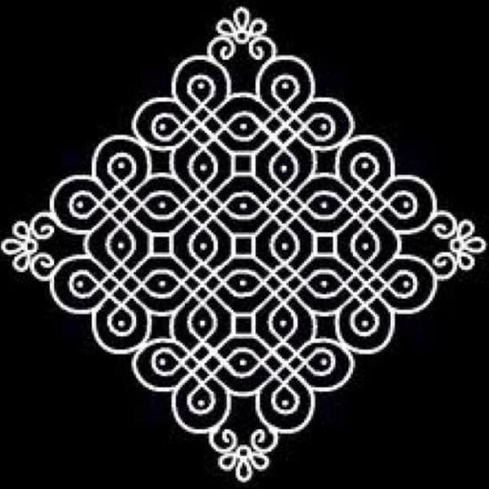 Best Kolam Rangoli Designs 3