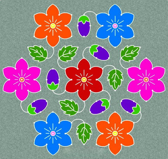 Best Kolam Rangoli Designs 4
