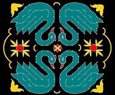 Best Kolangal Rangoli Designs 11
