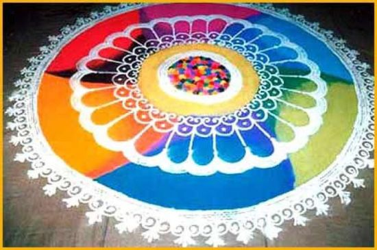 Best Kolangal Rangoli Designs 3