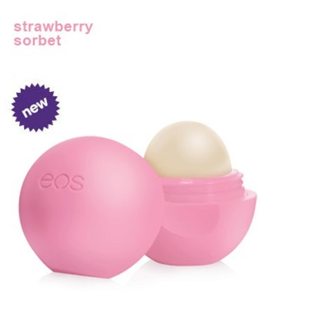 EOS Strawberry Sorbet Organic Lip Balm Sphere