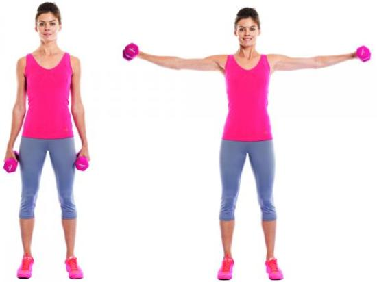 The Lateral Shoulder Raise