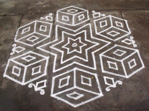 Kolangal Rangoli Designs 4
