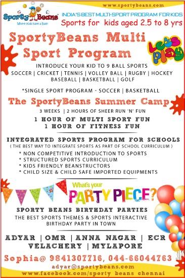 Multi-Sport Camp – Various Locations