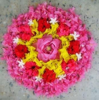 Pookalam Rangoli Designs 11