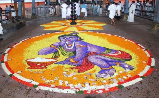 Pookalam Rangoli Designs 12