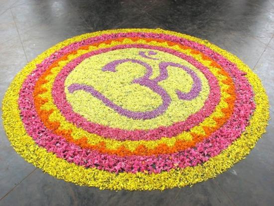 Pookalam Rangoli Designs 14