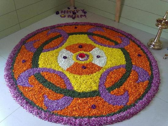 Pookalam Rangoli Designs 6