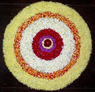 Pookalam Rangoli Designs 8