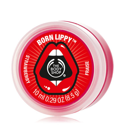 The Body Shop Born Lippy Pot Lip Balm