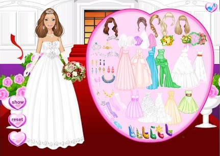 Barbie wedding dress up games indian style high cut for Dress up games wedding