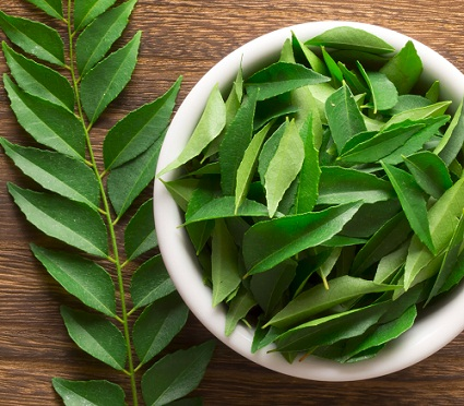 Homemade Hair Masks-Curry Leaves