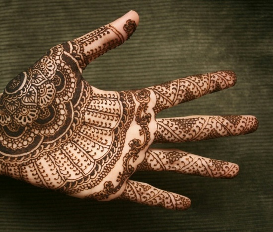 indian mehendi designs for hands