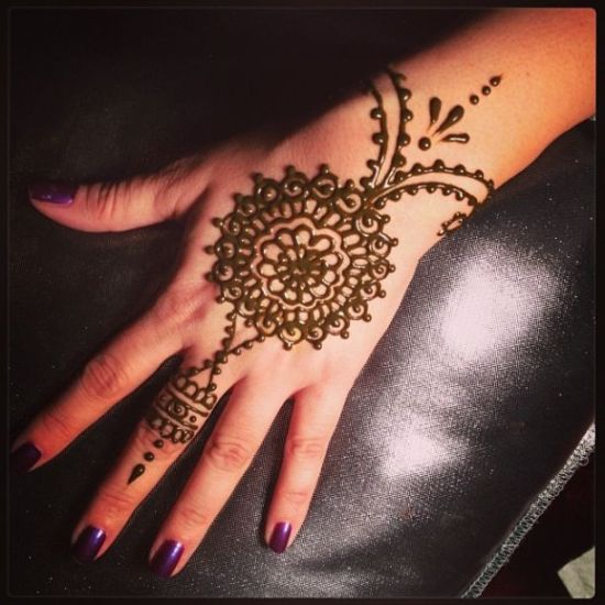 simple indian mehendi designs