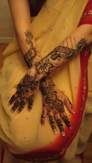 Indian Mehndi Design for Full Hands