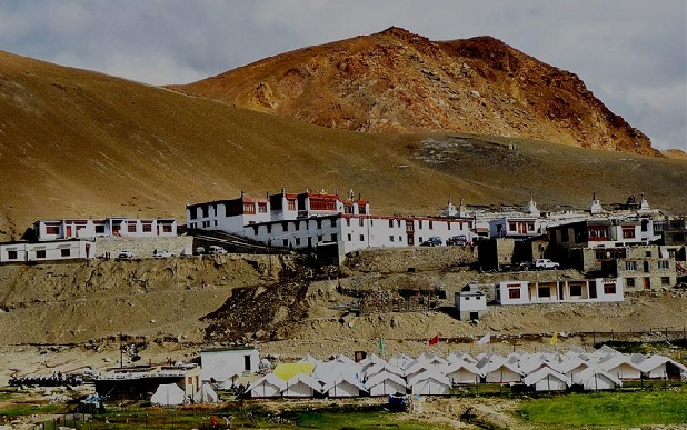 korzok-village_ladakh-tourist-places