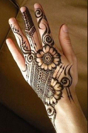 Cool Pakistani Floral Motif Pattern
