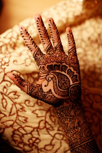 simple punjabi mehndi design