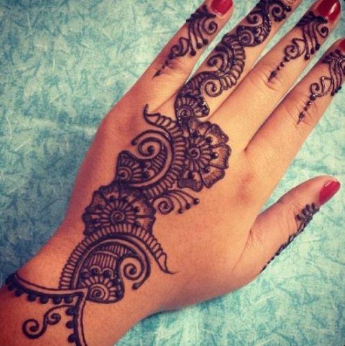 punjabi mehndi designs back hand