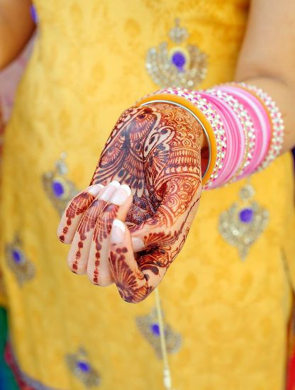 Traditional Punjabi Mehndi Designs