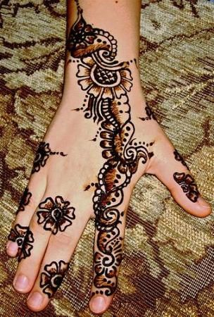 punjabi mehndi designs collection