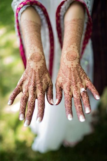 punjabi mehndi designs hands