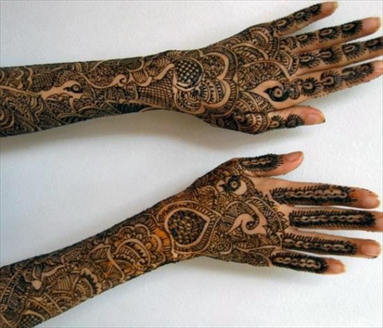 punjabi mehndi design image