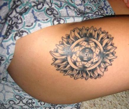 Sunflower tribal