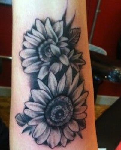 top-9-sunflower-tattoo-designs10