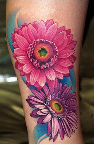 top-9-sunflower-tattoo-designs12