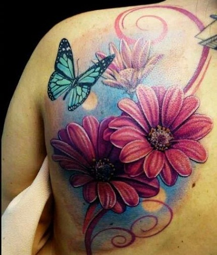 top-9-sunflower-tattoo-designs15