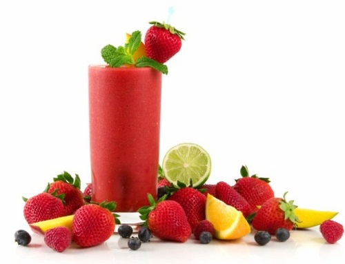 Weight Gain Foods - Strawberry Juice
