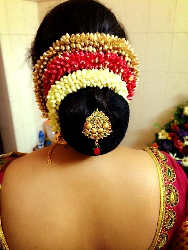 Top 9 Tamil Bridal Hairstyles | Styles At Life