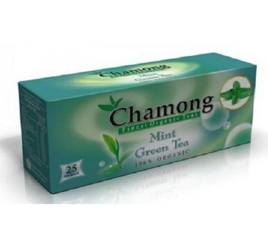 Chamong Organic Mint Green Tea