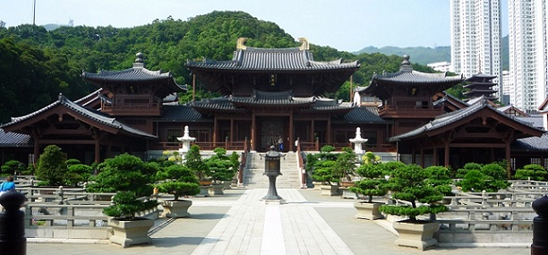 Chi Lin Nunnery_hong kong tourist places