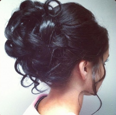 Curly Juda Hairstyle