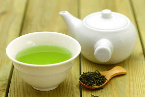 Home Remedies For Blackheads - Green Tea