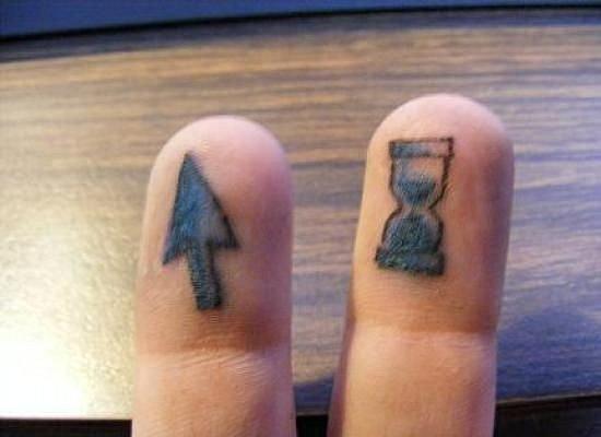 Hourglass Tattoo 3