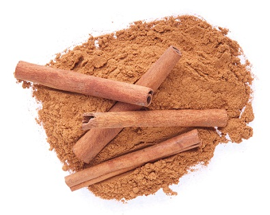 Cinnamon powder for skin