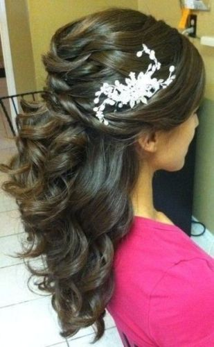 Indian engagement hairstyles1