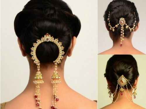 17 Simple Indian Juda Hairstyles For Wedding Parties 2018 Styles